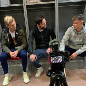 Joshua und Erwin im Interview über ihre Erfahrungen im College Fußball in New York City