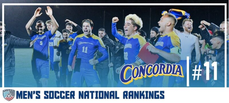 National Ranking #11   College Fußball Erfahrung von Johan Feilscher at Concordia College